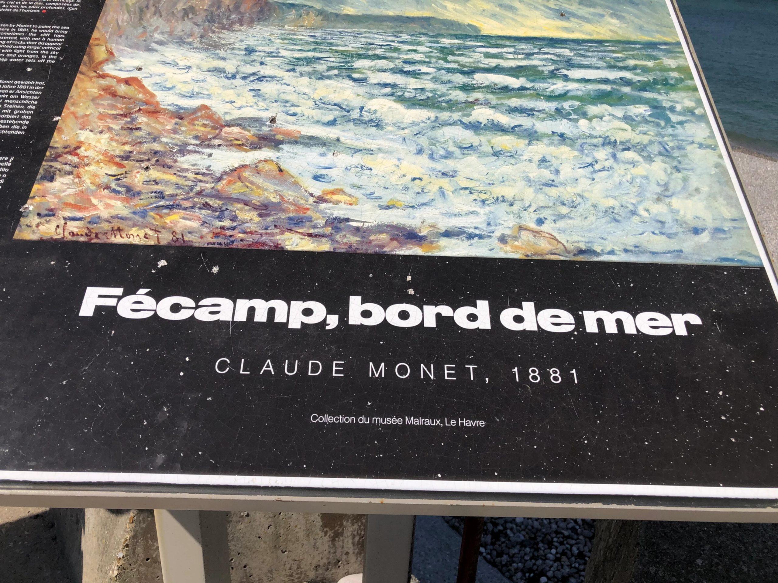 Fécamp en bord de mer en Normandie