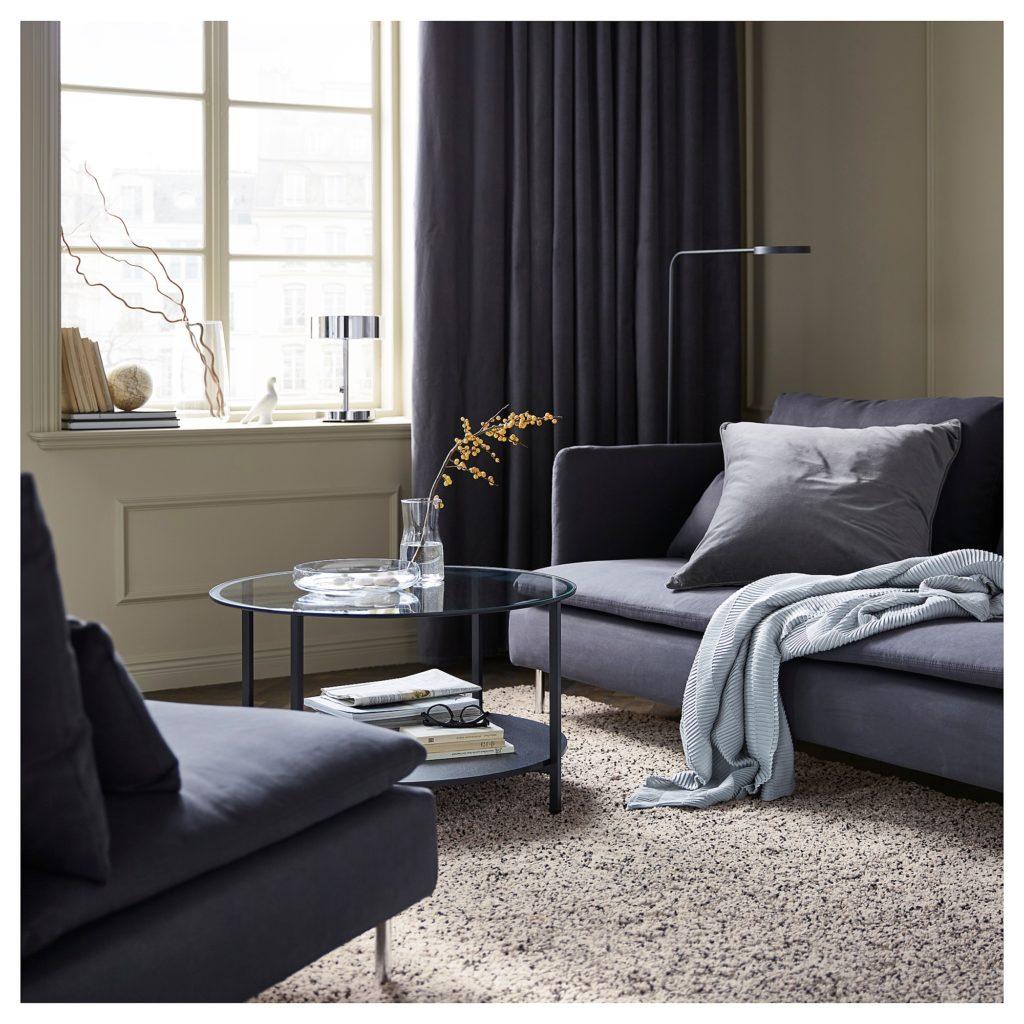 tapis ikea pour un intérieur cosy